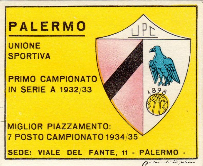 Figurine calciatori palermo Panini 1961-1962 Scudetto