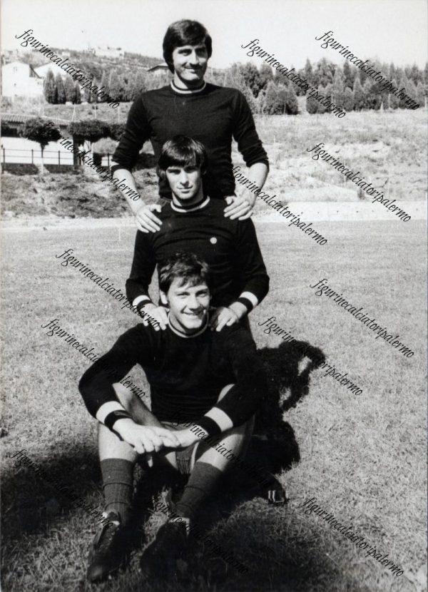 Palermo Calcio 1976-1977 Nino Trapani- Enzo Bravi-Lorenzo Frison