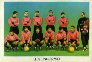 figurine calciatori palermo 1959-1960 squadra sidam