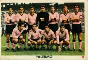 Figurine calciatori palermo 1961-1962 E.D.I. Milano Squadra