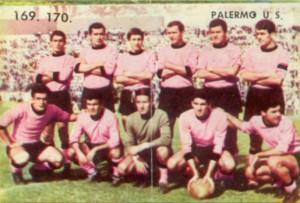figurine calciatori palermo 1962-1963 Squadra