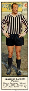 figurine calciatori palermo 1966-1967 Landoni