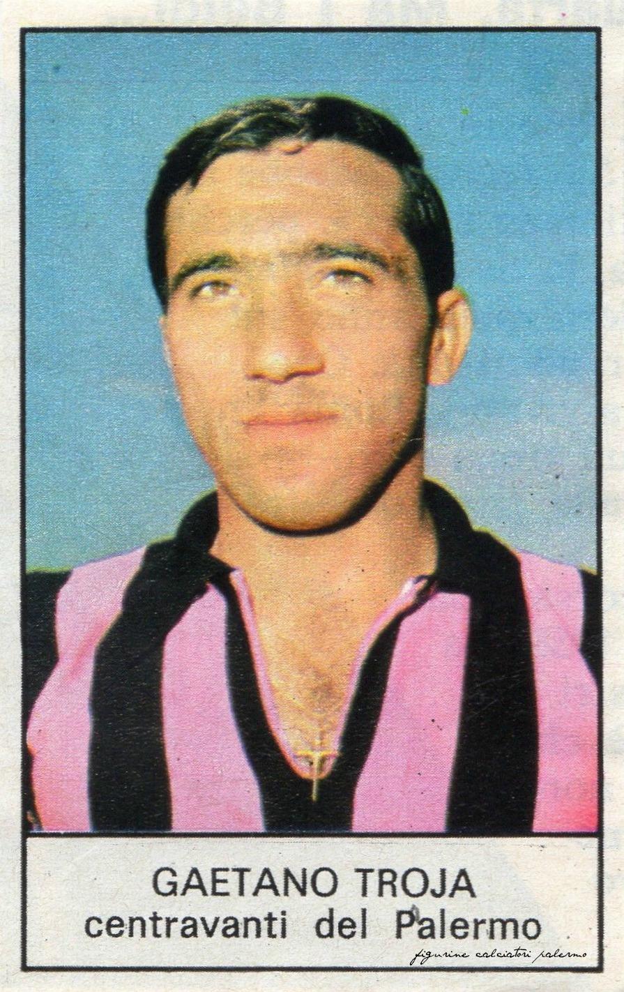 figurine-calciatori-palermo 1968-1969 Troja