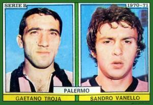 figurine calciatori palermo 1970-1971 Troja-Vanello