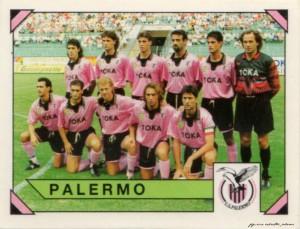 figurine calciatori palermo 1993-1994 Squadra
