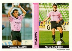 figurine calciatori palermo 1996-1997 galeoto - ciardiello