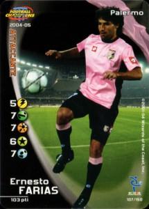 figurine calciatori palermo 2004-2005 Farias