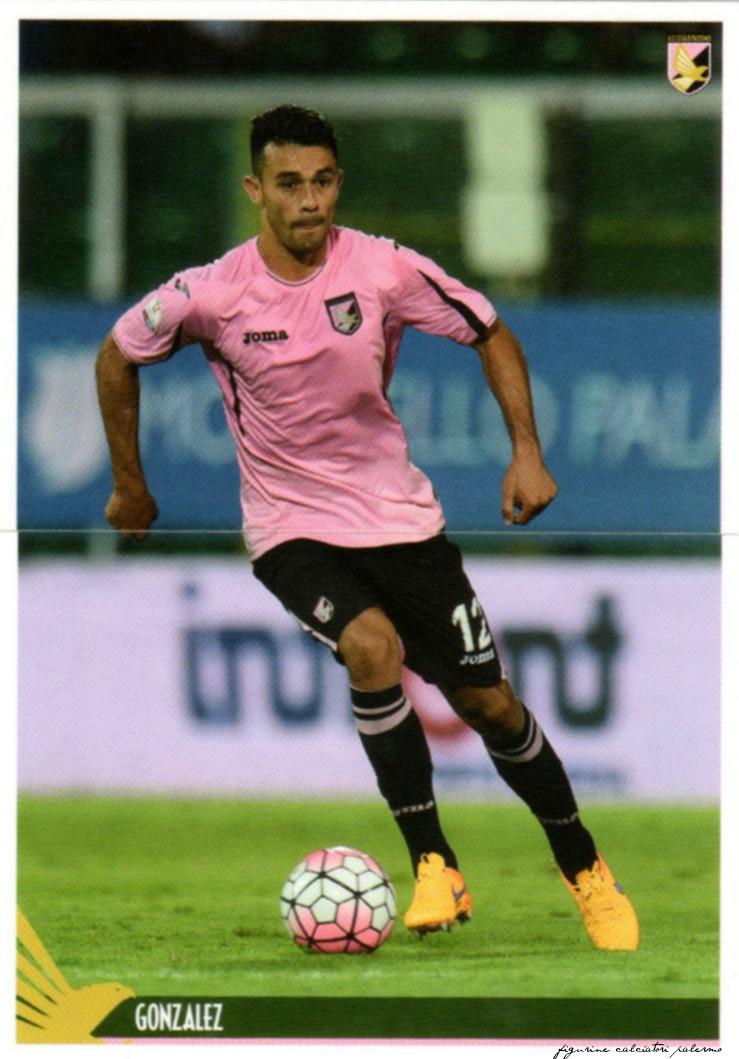 figurine calciatori palermo 2015-2016 Gonzalez