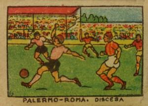 figurine calciatori palermo 1934-1935 Palermo- Roma