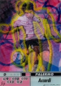 figurine calciatori palermo 2004-2005 animotion Accardi