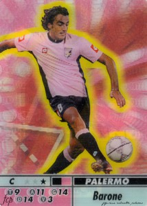 figurine calciatori palermo 2004-2005 animotion Barone