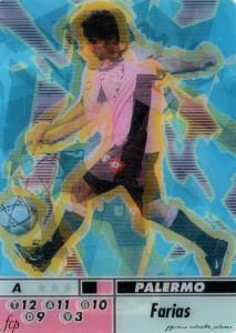 figurine calciatori palermo 2004-2005 animotion Farias