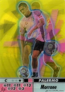 figurine calciatori palermo 2004-2005 animotion Morrone