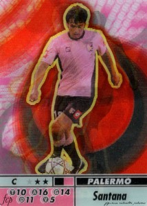 figurine calciatori palermo 2004-2005 animotion Santana