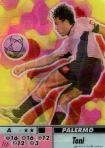 figurine calciatori palermo 2004-2005 animotion Toni