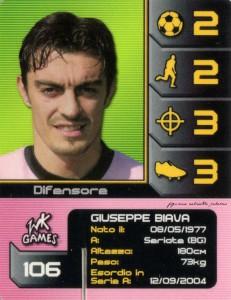 figurine calciatori palermo 2004-2005 wk Games Biava