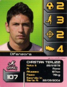 figurine calciatori palermo 2004-2005 wk Games Terlizzi
