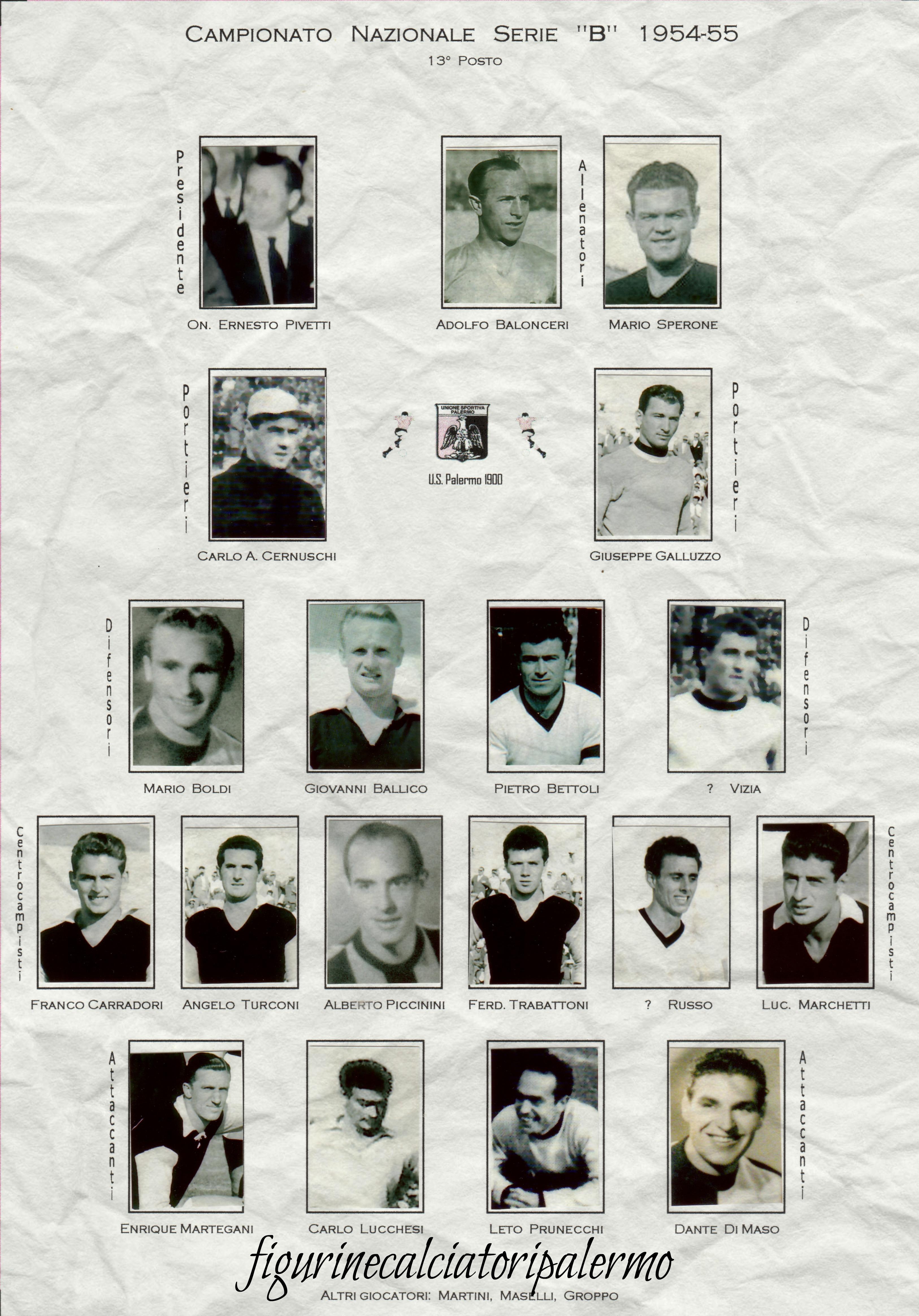 Palermo Calcio 1954-1955