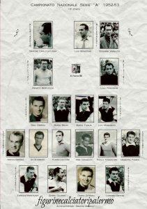 Palermo Calcio 1952-1953 Squadra