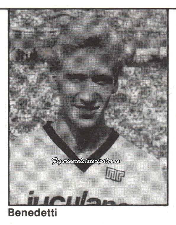 Palermo Calcio 1985-1986 Benedetti