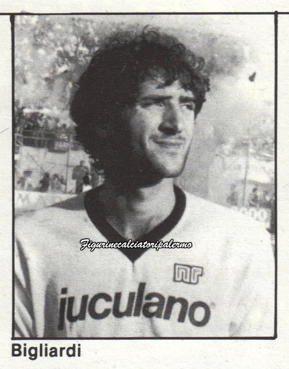 Palermo Calcio 1985-1986 Bigliardi
