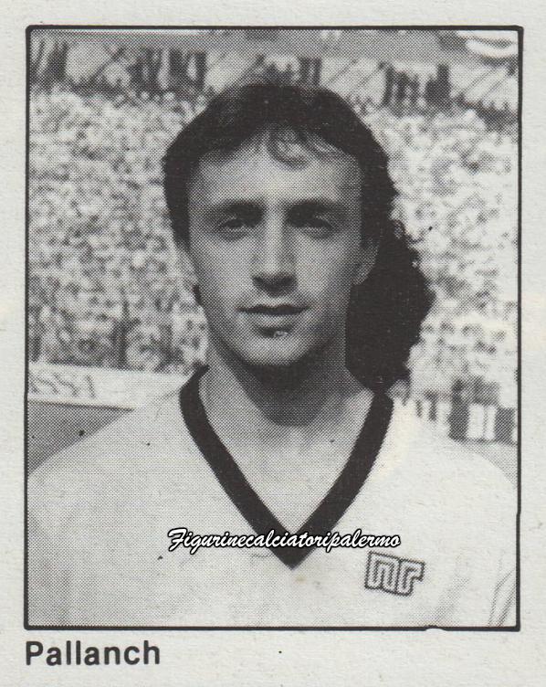 Palermo Calcio 1985-1986 Pallanch