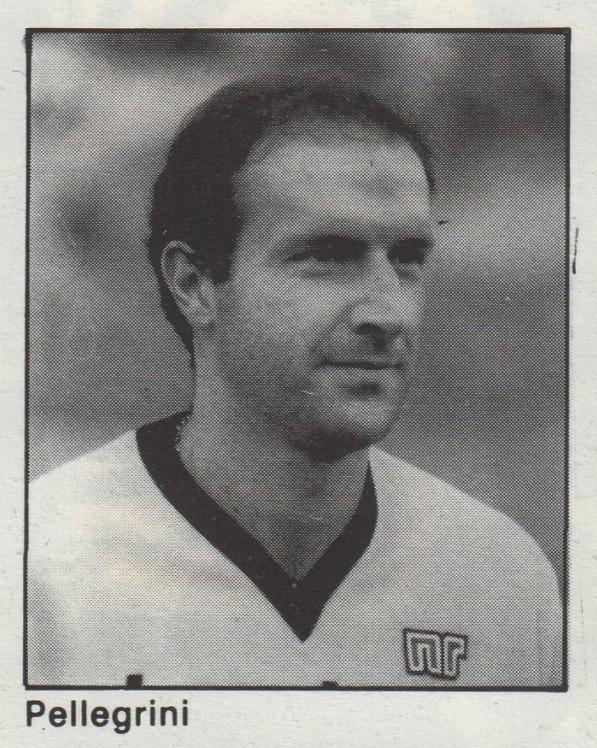 Palermo Calcio 1985-1986 Pellegrini
