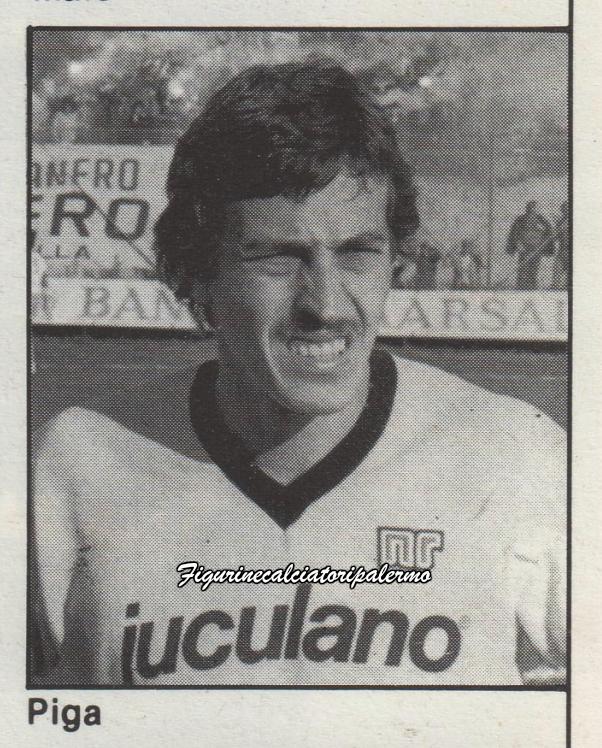 Palermo Calcio 1985-1986 Piga