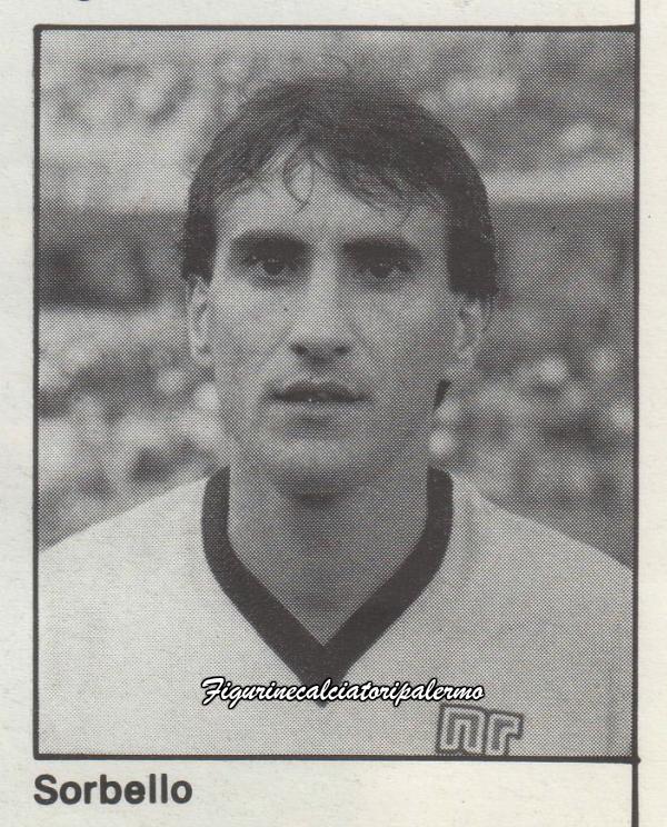 Palermo Calcio 1985-1986 Sorbello
