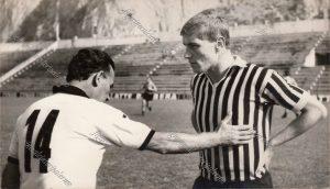 Palermo Calcio Carmelo Di Bella e Romeo Benetti 1967