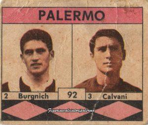 Palermo Calcio 1961-1962 Burgnich-Calvani