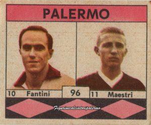 Palermo Calcio 1961-1962 Fantini-Maestri