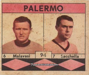 Palermo Calcio 1961-1962 Malavasi-Sacchella