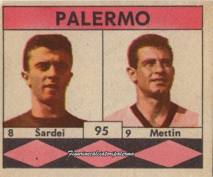 Palermo Calcio 1961-1962 Sardei-Metin