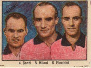 Palermo Calcio 1948-1949 Conti Milani Piccinini