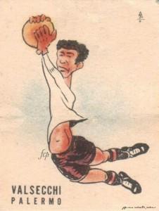 figurine calciatori palermo 1947-1948 Valsecchi