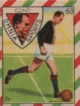 figurine calciatori palermo-1949-1950-Conti
