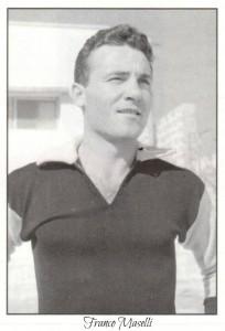 figurine calciatori palermo 1951-1952 Franco Maselli