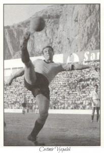 figurine calciatori palermo 1958-1959 Vycpalek