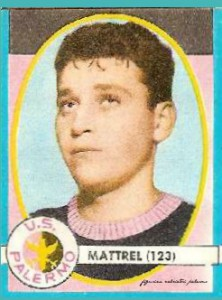 figurine calciatori palermo 1961-1962 Mattrel