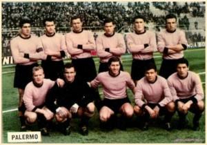 figurine calciatori palermo 1962-1963 fotocalcio squadra
