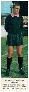 figurine calciatori palermo 1966-1967 Geotti