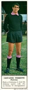 figurine calciatori palermo 1966-1967 Ferretti