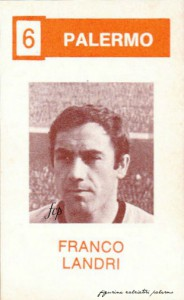 figurine calciatori palermo 1969-1970 landri