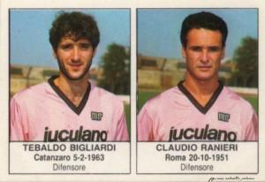 figurine calciatori palermo 1985-1986 Bigliardi - Ranieri