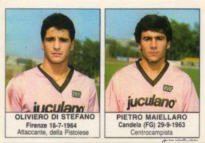figurine calciatori palermo 1985-1986 Di Stefano - Maiellaro