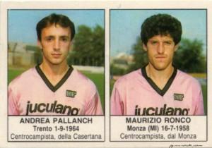 figurine calciatori palermo 1985-1986 Pallanch - Ronco