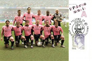 figurine calciatori palermo 2003-2004 Squadra