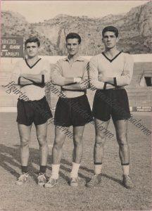 Palermo Calcio 1961-1962 Tonino de bellis roberto Anzolin e Giorgio Sereni