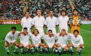 Palermo Calcio 1994-1995 milan-palermo 0-1 coppa italia
